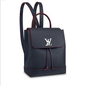 Louis Vuitton LOCKME Backpack - Red/Navy